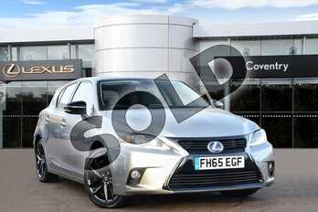Lexus CT 200h 1.8 Sport 5dr CVT Auto in Sonic Titanium at Lexus Coventry