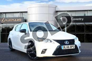 Lexus CT 200h 1.8 Sport 5dr CVT Auto in Sonic White at Lexus Coventry
