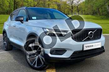 Volvo XC40 2.0 D3 R DESIGN Pro 5dr Geartronic in Glacier Silver at Listers Volvo Worcester