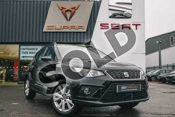 SEAT Arona 1.0 TSI SE Technology (EZ) 5dr in Black at Listers SEAT Coventry