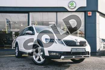 Skoda Octavia 2.0 TDI CR Scout 4x4 5dr DSG in Candy White at Listers ŠKODA Coventry