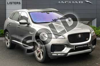 Jaguar F-PACE 3.0d V6 S 5dr Auto AWD in Corris Grey at Listers Jaguar Droitwich