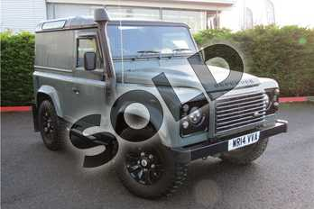 Land Rover Defender XS Hard Top TDCi (2.2) in Solid - Keswick green at Listers U Boston