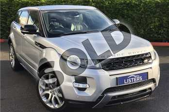 Range Rover Evoque 2.2 SD4 Dynamic 5dr Auto (Lux Pack) in Metallic - Indus silver at Listers U Boston