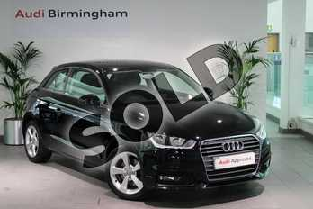 Audi A1 1.4 TFSI Sport 3dr in Brilliant Black at Birmingham Audi