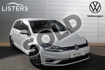 Volkswagen Golf 1.5 TSI EVO Match 5dr in Pure white at Listers Volkswagen Evesham