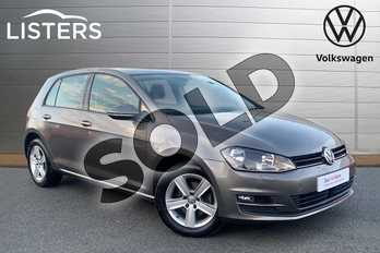 Volkswagen Golf 1.6 TDI 110 Match Edition 5dr in Limestone Grey at Listers Volkswagen Stratford-upon-Avon