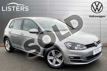 Volkswagen Golf 1.6 TDI 110 Match Edition 5dr DSG in Tungsten Silver at Listers Volkswagen Stratford-upon-Avon