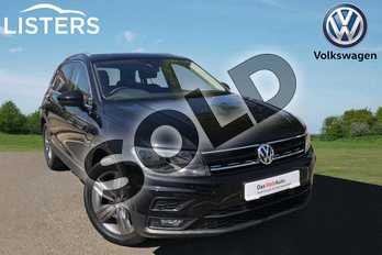 Volkswagen Tiguan 1.5 TSI EVO 150 Match 5dr in Deep black at Listers Volkswagen Worcester