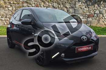 Toyota AYGO 1.0 VVT-i X-Press 5dr in Electro Grey at Listers Toyota Grantham