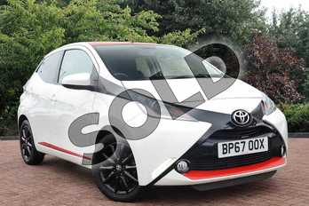 Toyota AYGO 1.0 VVT-i X-Press 5dr in White at Listers Toyota Nuneaton