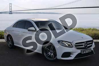 Mercedes-Benz E Class E220d AMG Line 4dr 9G-Tronic in Polar White at Mercedes-Benz of Hull