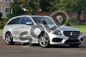 Mercedes-Benz C Class C220d AMG Line 5dr 9G-Tronic in iridium silver metallic at Mercedes-Benz of Lincoln