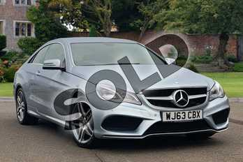 Mercedes-Benz E Class E350 BlueTEC AMG Sport 2dr 7G-Tronic in Diamond Silver metallic at Mercedes-Benz of Lincoln