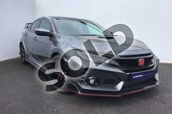 Honda Civic 2.0 VTEC Turbo Type R GT 5dr in Polished Metal at Listers Honda Coventry
