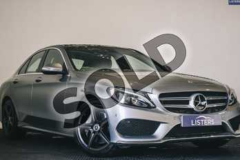 Mercedes-Benz C Class C250 BlueTEC AMG Line Premium Plus 4dr Auto in Metallic - Iridium silver at Listers U Stratford-upon-Avon