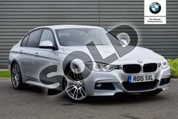 BMW 3 Series 330d M Sport 4dr Step Auto in Glacier Silver at Listers Boston (BMW)