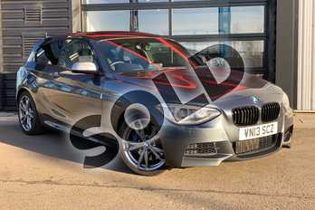 BMW 1 Series M135i M Performance 3dr Step Auto in Mineral Grey at Listers King's Lynn (BMW)