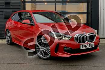 BMW 1 Series 118i M Sport 5dr in Melbourne Red metallic at Listers King's Lynn (BMW)