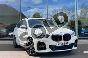 BMW X1 xDrive 18d M Sport 5dr in Alpine White at Listers King's Lynn (BMW)