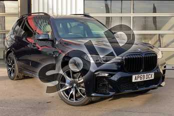 BMW X7 xDrive30d M Sport 5dr Step Auto in Carbon Black at Listers King's Lynn (BMW)