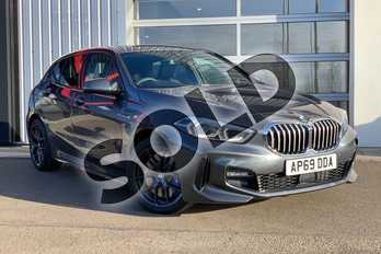BMW 1 Series 118i M Sport 5dr Step Auto in Mineral Grey at Listers King's Lynn (BMW)
