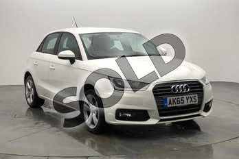 Audi A1 1.4 TFSI Sport 5dr in Shell White at Birmingham Audi