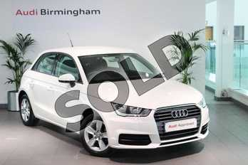 Audi A1 1.0 TFSI SE 5dr in Shell White at Birmingham Audi