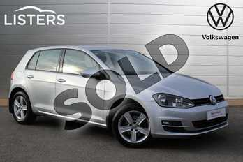 Volkswagen Golf 1.6 TDI 110 Match 5dr in Reflex Silver at Listers Volkswagen Nuneaton