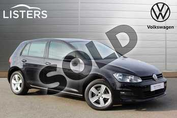 Volkswagen Golf 1.4 TSI Match 5dr DSG in Deep Black at Listers Volkswagen Nuneaton