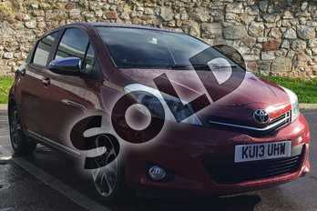 Toyota Yaris 1.33 VVT-i Trend 5dr in Lava Red at Listers Toyota Boston