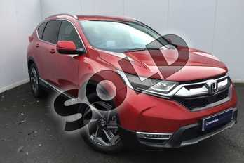 Honda CR-V 1.5 VTEC Turbo EX 5dr CVT in Crystal Red at Listers Honda Solihull