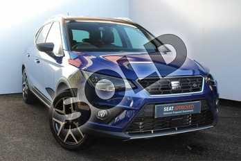 SEAT Arona 1.0 TSI 115 FR Sport (EZ) 5dr DSG in Mystery Blue at Listers SEAT Worcester