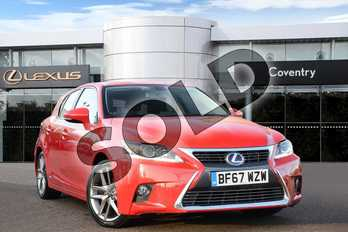 Lexus CT 200h 1.8 Executive Edition 5dr CVT Auto in Fuji Red at Lexus Coventry