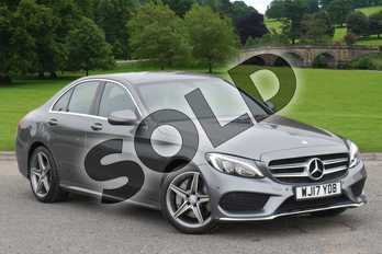 Mercedes-Benz C Class C250d AMG Line 4dr 9G-Tronic in Selenite Grey Metallic at Mercedes-Benz of Grimsby