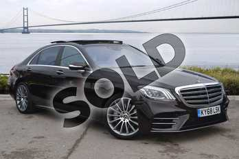Mercedes-Benz S Class S500L AMG Line Executive/Premium 4dr 9G-Tronic in Ruby Black metallic at Mercedes-Benz of Hull