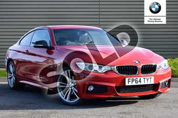 BMW 4 Series 420d M Sport 2dr Auto in Melbourne Red metallic at Listers Boston (BMW)