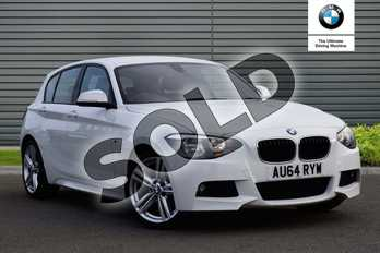 BMW 1 Series 116i M Sport 5dr in Alpine White at Listers Boston (BMW)