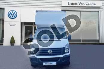 Volkswagen Crafter 2.0 TDI 136PS Chassis Cab in White at Listers Volkswagen Van Centre Coventry