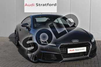 Audi TT 2.0 TDI Ultra S Line 2dr in Daytona Grey Pearlescent at Stratford Audi