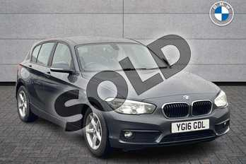BMW 1 Series 116d EfficientDynamics Plus 5dr in Mineral Grey at Listers Boston (BMW)