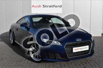 Audi TT 2.0T FSI Sport 2dr in Scuba Blue Metallic at Stratford Audi