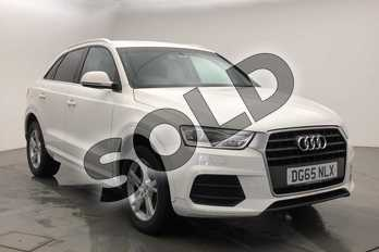 Audi Q3 2.0 TDI SE 5dr in Shell White at Worcester Audi