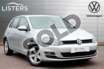 Volkswagen Golf 1.4 TSI 125 Match Edition 5dr in Reflex silver at Listers Volkswagen Leamington Spa