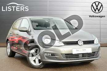 Volkswagen Golf 1.4 TSI 125 Match Edition 5dr in Limestone Grey at Listers Volkswagen Leamington Spa