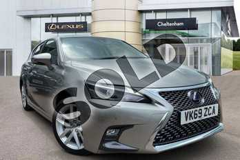 Lexus CT 200h 1.8 5dr CVT (Premium/Tech Pack) in Sonic Titanium at Lexus Cheltenham