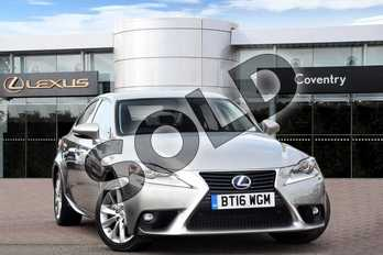 Lexus IS 300h Luxury 4dr CVT Auto in Sonic Titanium at Lexus Coventry