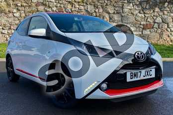 Toyota AYGO 1.0 VVT-i X-Press 5dr in Sollid White at Listers Toyota Coventry