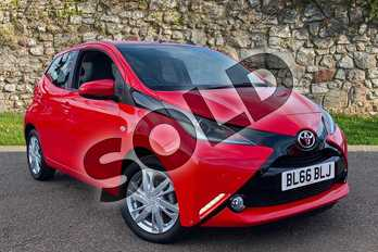 Toyota AYGO 1.0 VVT-i X-Pression 5dr in Red Pop at Listers Toyota Coventry