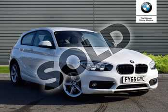 BMW 1 Series 118i (1.5) SE 3dr in Alpine White at Listers Boston (BMW)